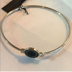 BLK/SLV M A R C BY Marc Jacobs bangle